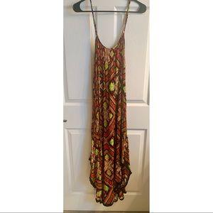 Tobi multicolored maxi dress